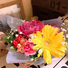 お花 今日も お客様からお花頂きました💐 ほん…