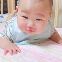 赤ちゃん/至福のひととき 今朝の1枚(*´꒳`*) この笑顔で 今…