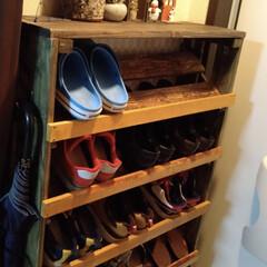 木材が好き/DIY/DIY初心者 靴箱を相方さんの家に渡してきました😄  …