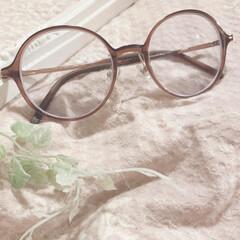 メガネ/お気に入り/買って良かった/眼鏡/ボストン型/エアフレーム/... JINSで眼鏡を買いました。 エアフレー…
