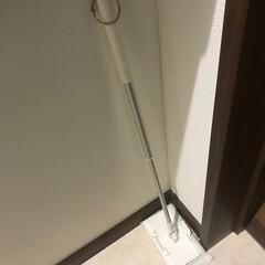 掃除グッズ トイレ掃除用の小さめ床ワイパー 毎日出る…