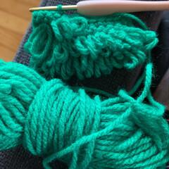 エコタワシ アクリルたわし ハンド.../掃除グッズ アクリル毛糸で編む手作りのエコタワシ 全…