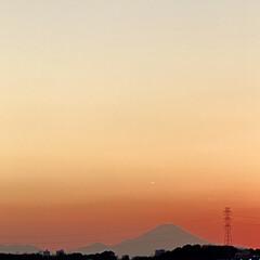 富士山🗻/ニッポンいちの山/2021 今日は仕事始めでした。 それもいつもより…