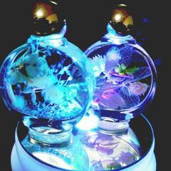 ハーバリウム/可愛い/今日もお疲れ様でした/明日も頑張ろう プチ💕ハーバリウム👍️直径4cmの瓶に花…