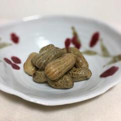 塩茹でした落花生🥜❣️すごい美味し... (1枚目)
