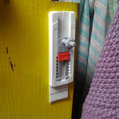 テサ パワーストリップ 高さ調節ロングフック | テサ  (ウォールフック)を使ったクチコミ「テサテープのモニター当選で頂きました〜!…」(4枚目)