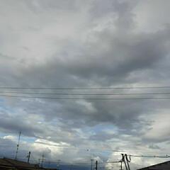 夕方/福山/空 雨が上がったと思いましたが、  また降っ…