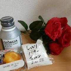 神戸屋のマフィン/GEORGIAのBLACK/おうちカフェ 休みの日のおやつ🎵  GEORGIAの新…
