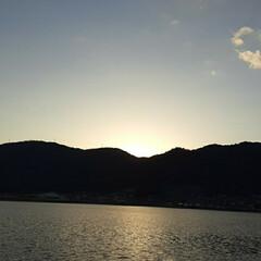 「夕方の芦田川です❗  もう少し、早ければ…」(4枚目)