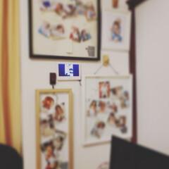 デジタルフォトフレーム/写真の飾り方/住まい/無印良品/暮らし お父ちゃんが会社の新人教育期間を終えた日…