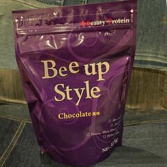 Bee up Style Chocolate風味 | Bee up Style(ソイプロテイン)を使ったクチコミ「当選しました😋  早速飲んでみたらココア…」