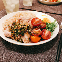 カオマンガイ/おうちごはん 中華風カオマンガイを作りました♩  いよ…