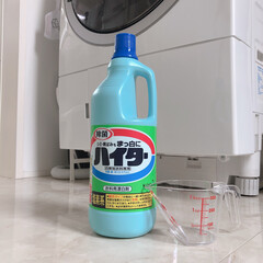洗濯/掃除/ハイター/リミとも部家事フォト/洗濯槽クリーニング/洗濯機 今日のこそうじ。  洗濯槽クリーニングを…