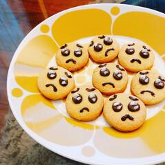 レシピ/リミとも部/ぴえんクッキー/100均/ダイソー/簡単/... #ぴえんクッキー を作りました🥺  @d…