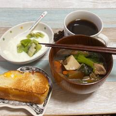 食事情 ブランチです❤️ お腹空きました😅❤️ …(1枚目)