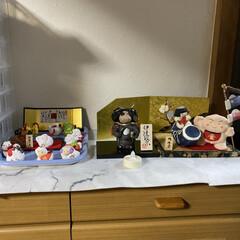 鯉のぼり🎏/独眼竜政宗/金太郎/五月人形 五月人形🎏  ちょこんと御飾りしました🎏…