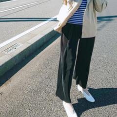 オシャレ/プリーツパンツ/トレンド/春ファッション/プチプラ トレンドのプリーツパンツが今の気分!ウエ…(1枚目)