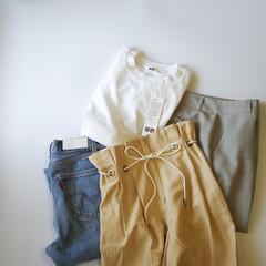ユニクロ/UNIQLO/メンズアイテム/着回し/Tシャツ/エアリズムコットンオーバーサイズTシャツ UNIQLOのメンズTシャツ、「エアリズ…