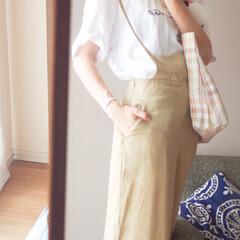 Tシャツ/ご近所コーデ/楽チンコーデ/夏コーデ/洗える/綿素材 アイディア記事が公開されました。よろしか…