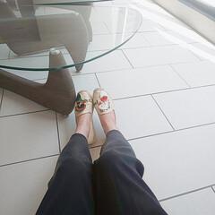 コンフォートシューズ/エスパドリーユ/夏シューズ/大人カジュアル/オシャレ/今日のコーデ 大好きな靴!エスパドリーユって少し古臭い…