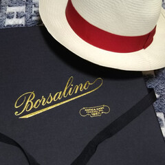 イタリア/帽子/Borsalino/おでかけ/ファッション/おすすめアイテム お気に入りの帽子。  日頃から、サングラ…