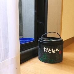 蚊取り線香/DIY/生活雑貨 普通の蚊取り線香をアクリル絵具とセメント…