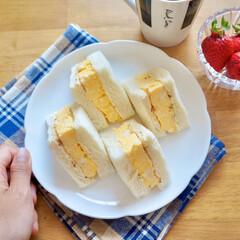 レシピ/簡単レシピ/時短レシピ/節約レシピ/サンドイッチ/卵/... いちごサンドに続き厚焼き卵サンドも作って…