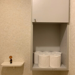 トイレットペーパー/トイレ/片付け トイレットペーパーの置き方、どうする? …