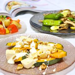緑黄色野菜/デリ風/手料理/健康管理/食事情 カラフルな野菜を取り入れた デリ風のおか…
