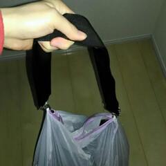 洗濯かご/ランドリーワゴン/代用/針と糸を使わない/肩掛けバッグ/洗濯アイデア/... お恥ずかしい話、私は洗濯物を溜めて洗うの…