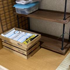 野地板/ボルトラック/棚/玄関/DIY/アンティーク ボルトラック第5弾‼️ 今回も家にあった…(2枚目)