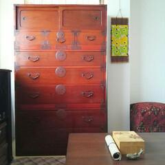時代箪笥/和室 一人暮らしの買って良かった愛用品。 大正…