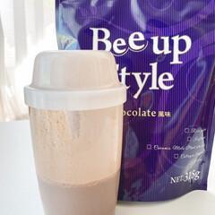 Bee up Style Chocolate風味 | Bee up Style(ソイプロテイン)を使ったクチコミ「当選したプロテインを お試しさせていただ…」(3枚目)