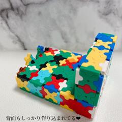 LaQ/ブロック/子ども/遊び/新生活/DIY/... 毎日早いですね。 コロナが流行ってから、…(2枚目)