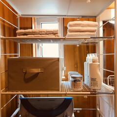 楽天市場/洗濯機まわり/スッキリ収納/パイプ棚収納/パイプ棚/楽天room/... このパイプ棚は、横幅が自由自在です。 ま…
