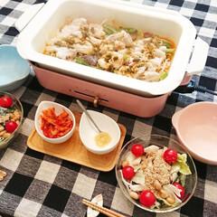 簡単レシピ/時短料理/時短レシピ/ご飯/夕飯/美味しい/... ブルーノホットプレートを使って簡単にご飯…