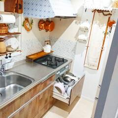 キッチンインテリア/お掃除/キッチン掃除/キッチン/フライパン/フライパン収納/... 最近は気温も上がってきたのでキッチン回り…