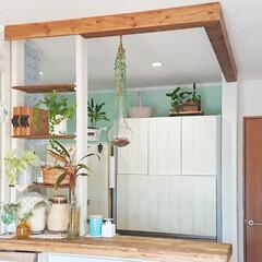 ディアウォール DWS90 | 若井産業(突っ張りラック)を使ったクチコミ「我が家ではディアウォール使って作った棚が…」