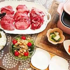 ガーデニング/トマト栽培/ガーデニング初心者/トマト/サラダ/おうちで焼き肉/... 今日の夕食はlimiaのコンテストで受賞…