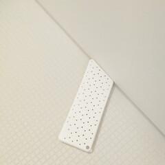Tidy プラタワフォーバス ウォームホワイト CL-665-512-7(掃除用ブラシ)を使ったクチコミ「我が家のお風呂掃除アイテムです👍✨  お…」(1枚目)