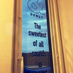 お店屋さん風/ウォールステッカー/スカイバルコニー/屋上/ガラス扉/カフェ風/... スカイバルコニーの扉を行きつけの大好きな…