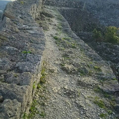 城めぐり/中城城跡/沖縄県/おでかけ/暮らし こちらは沖縄県の 中城城跡です。 城壁な…