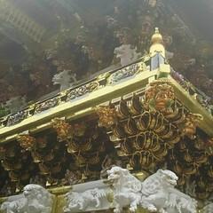 日光東照宮/日光/おでかけ/暮らし 日光東照宮の陽明門です。 金に輝やき、 …