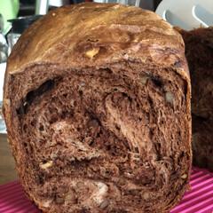 ホームベーカリー/チョコクルミパン チョコとクルミたっぷりのパン、たった今焼…