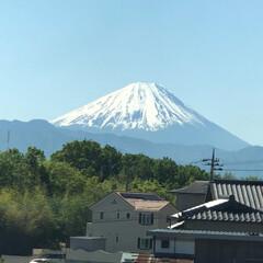 富士山 おはようございます☀ 出勤途中、あまりに…