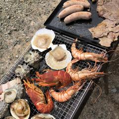 海鮮/ステイホーム/お家で過ごそう/BBQ ゴールデンウィーク唯一の私のお休み❣️ …(3枚目)