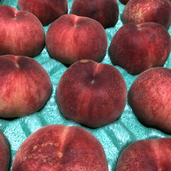 感謝/頂き物/はねだし/桃 桃の季節到来です‼️ 今日頂いた桃🍑 こ…