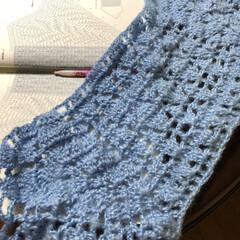 いつまでも元気でね/かぎ針編み/編み物/母 まだ買って2年しか経ってないのに、洗濯機…(1枚目)