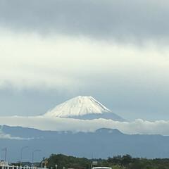 雪化粧/富士山 昨日はとっても寒かったですね‼️ 寒いわ…