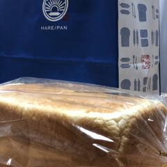 晴れパン/純生食パン 今日の食パン専門店巡りは、晴れパン❣️ …